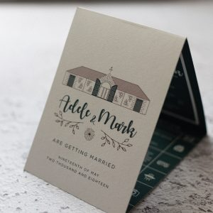 nordic wedding invitations