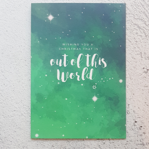 out of this world christmas green